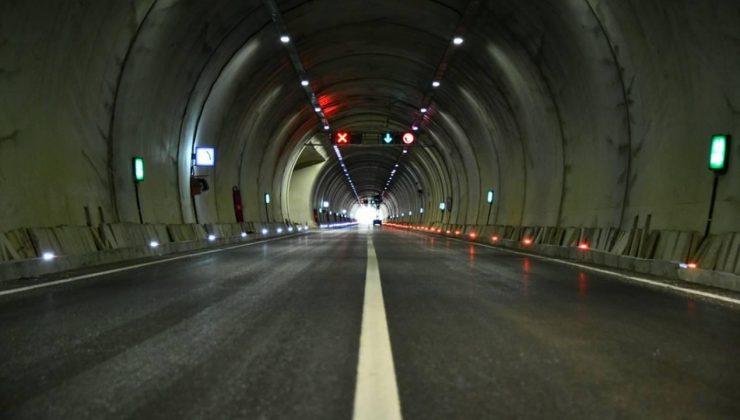 Cumhurbaşkanı Erdoğan, Kızılcahamam–Çerkeş Tüneli'nin açılışına katıldı