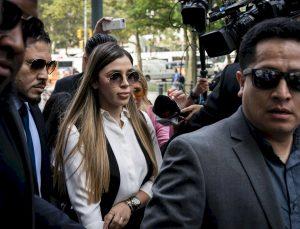 El Chapo'nun karısı teslim oldu