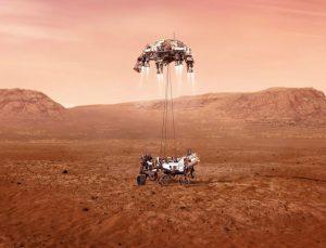 NASA kaşifi Mars'a indi