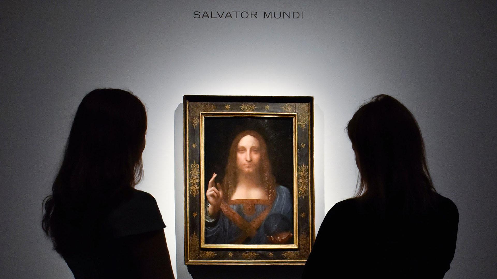 Salvator Mundi'nin eli sonradan mı eklendi?