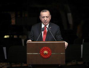 """'Dünya Dili Türkçe' seferberliği… Erdoğan """"Bizim Yunus"""" Yılı Açılış Töreni'nde duyurdu"""