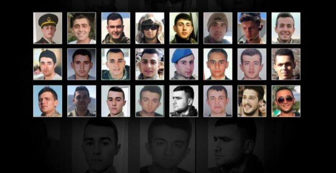 Kahraman İdlib Şehitlerimizi minnetle anıyoruz…