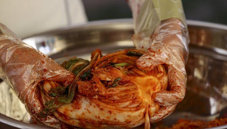 """Kore mutfağının vazgeçilmezi """"Kimchi"""""""