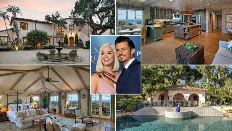 Katy Perry ve Orlando Bloom'un 14,2 milyon dolarlık muhteşem evi
