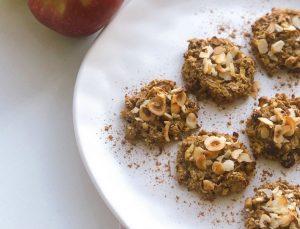 Şekeri yok, zevki çok: Elmalı yulaflı kurabiye