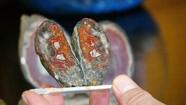 Yol yapımında kullanılıyordu: Değerli taş olduğu ortaya çıktı