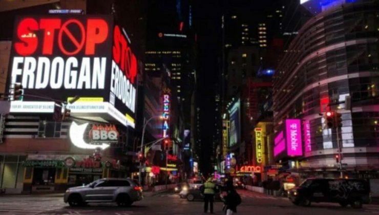ABD'deki skandal 'Stop Erdoğan' ilanına soruşturma