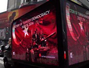 Times meydanında Türkiye'nin sesi…