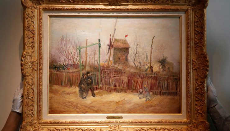Bir asırdır saklanan Van Gogh tablosu 15 milyon dolara satıldı