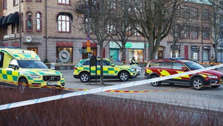 İsveç'te terör saldırısı: Yaralılar var