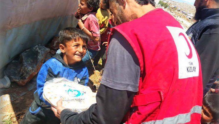 Kıyamder mülteciler için günde 50 bin ekmek dağıtımı yapıyor