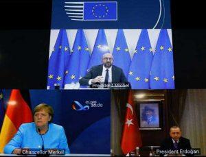 Erdoğan ve Merkel'den kritik görüşme