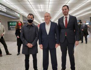 Türkiye'nin yeni Washington Büyükelçisi Mercan, ABD'ye geldi