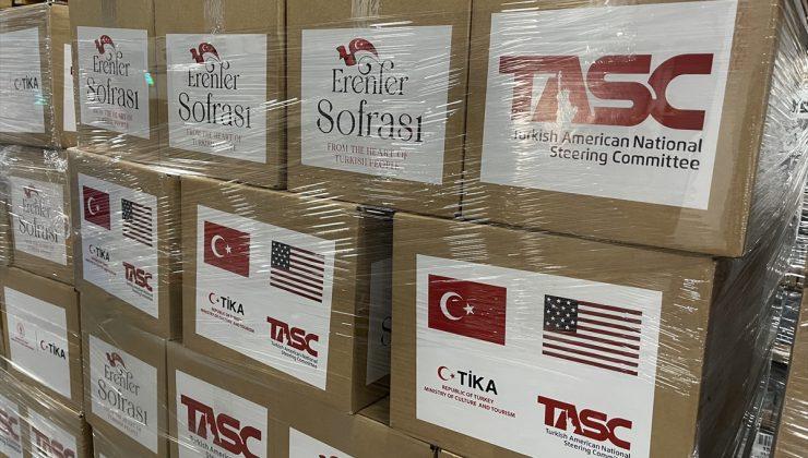 ABD'de Türk Amerikan Yönlendirme Komitesinin ramazan yardımları devam ediyor