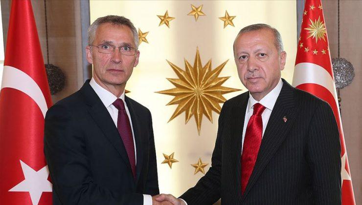 Cumhurbaşkanı Erdoğan, Stoltenberg ile görüştü