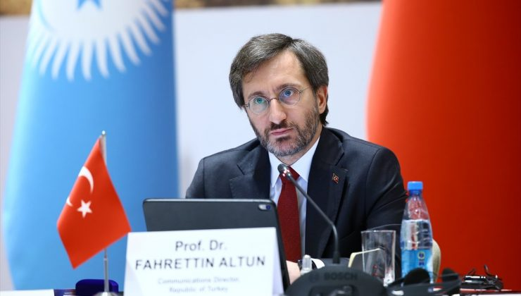 Fahrettin Altun, Türk Konseyi Toplantısı için Bakü'de