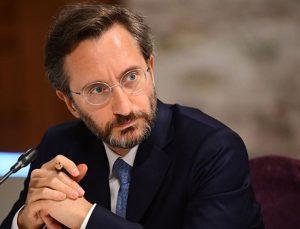 Fahrettin Altun'dan Mario Draghi'ye İtalyanca cevap