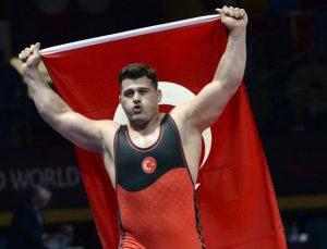Şampiyon güreşçi Kayaalp: Hedef olimpiyat şampiyonluğu