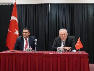 Büyükelçi Mercan Türk toplumu ile bir araya geldi