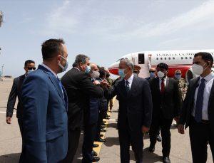 Türk heyeti Libya'da