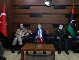 Türk heyeti Libya Başbakanı Dibeybe ile bir araya geldi