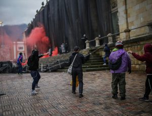 Kolombiya'da olaylar büyüyor! Ölü sayısı 24'e yükseldi
