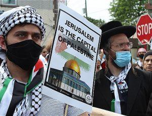 Paterson'da Filistin'e destek için 4 bin kişi toplandı