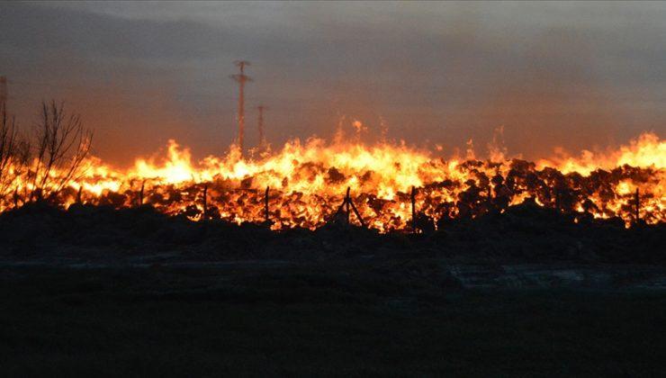 Afyonkarahisar'daki enerji santralinde yangın
