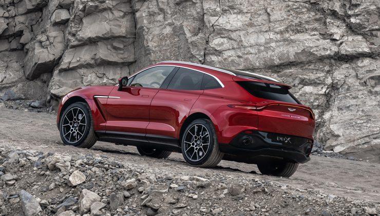 Aston Martin'in ilk SUV'u DBX'e 6 farklı renk seçeneği geldi