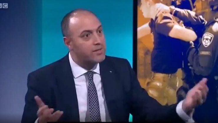 Filistin yöneticisi BBC muhabirine insanlık dersi verdi!