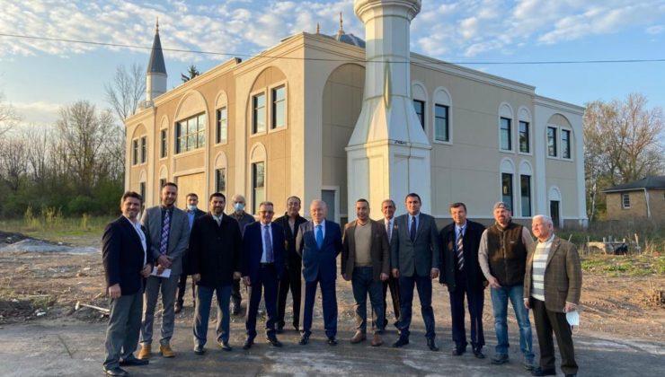 Büyükelçi Mercan inşası süren Rochester Diyanet Camisi'ni ziyaret etti