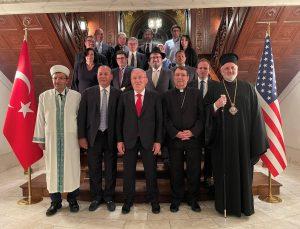 Büyükelçi Mercan'dan dini temsilcilere iftar yemeği