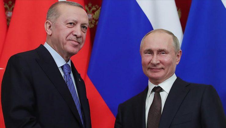Cumhurbaşkanı Erdoğan ve Rusya Devlet Başkanı Putin Sputnik V aşısını görüştü