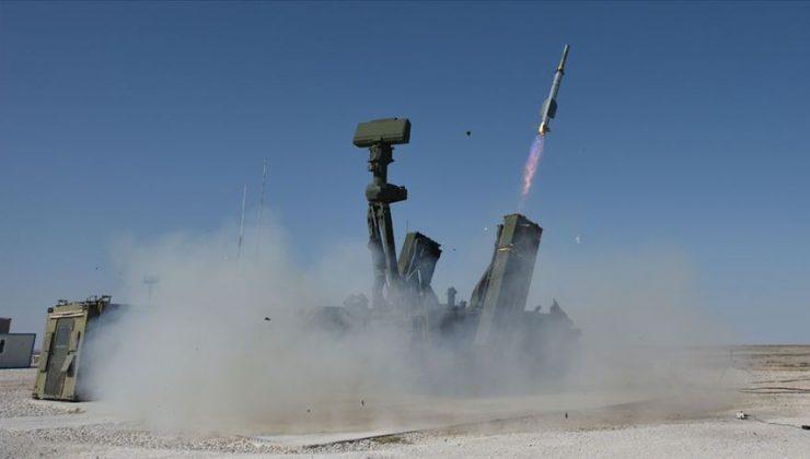 HİSAR A+ füzesi, hedef uçağı başarıyla vurdu