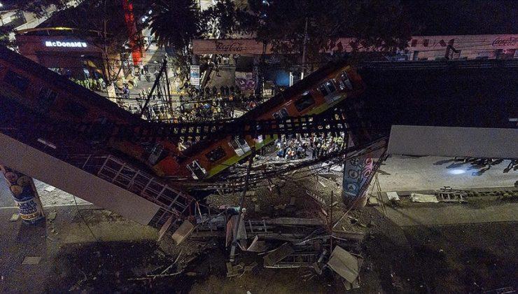 Meksika'da tren yolu çöktü: 23 ölü, 65 yaralı