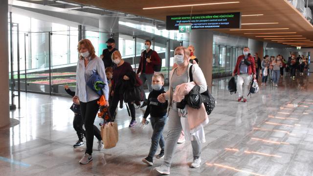 Ukraynalı turistlerin tatil adresleri Türkiye oldu
