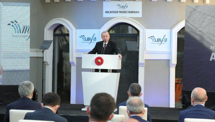 Erdoğan: 31 bin sanatçıya 250 milyon liraya ulaşan destek vereceğiz