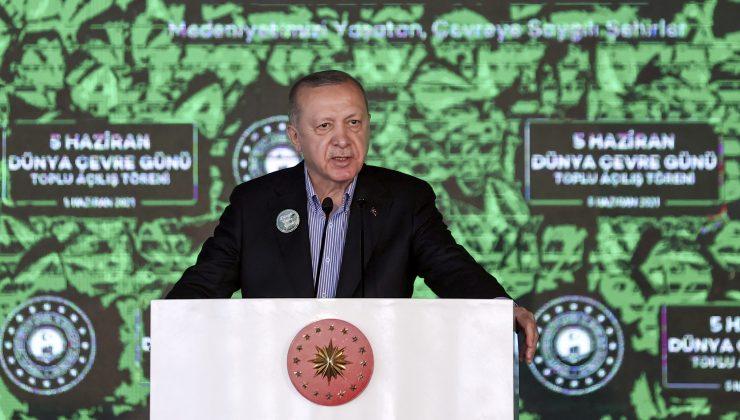 Cumhurbaşkanı Erdoğan: Marmara'yı müsilaj belasından kurtaracağız