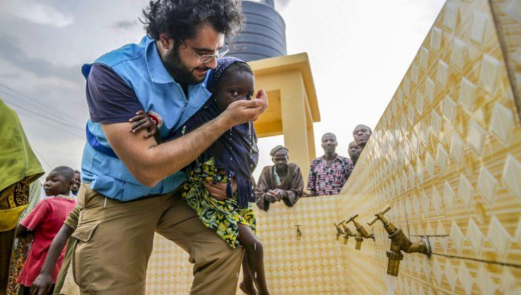 """Paterson Ulu Cami'den """"Bir damla hayat ol"""" su kuyusu kampanyasına destek"""