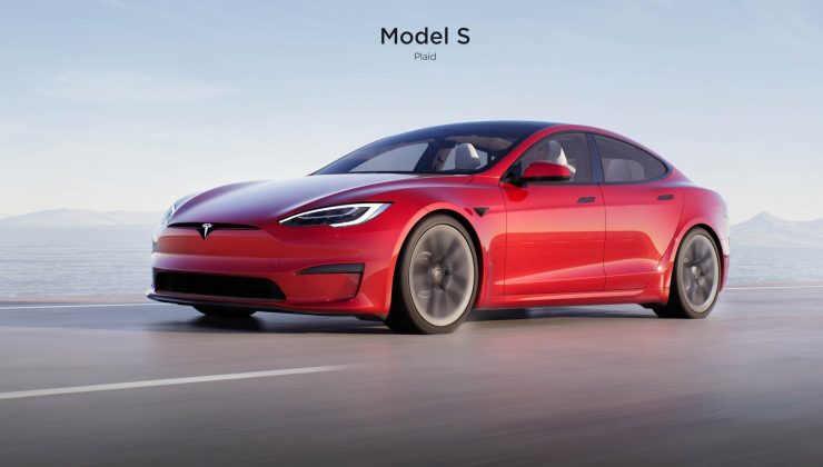 En hızlı elektrikli otomobil, Tesla Model S Plaid tanıtıldı