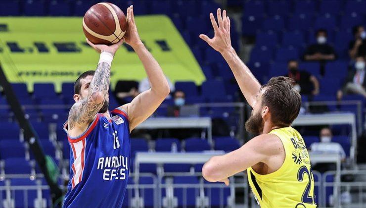 Anadolu Efes 2020-2021 sezonunun şampiyonu oldu