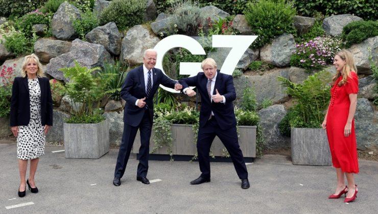 Biden, İngiltere Başbakanı Johnson'la Kuzey İrlanda'yı görüştü