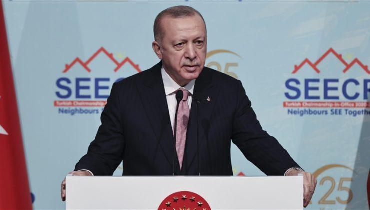 Erdoğan: Tam üyelik mücadelemizin artık neticelendirilmesini istiyoruz