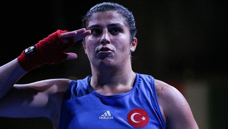 Milli boksör Busenaz Sürmeneli, Fransa'da altın madalya kazandı