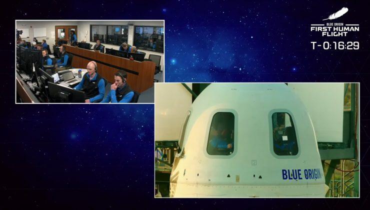 Jeff Bezos uzaya gitti ve döndü