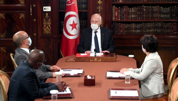 """Tunus Cumhurbaşkanı Said, """"Tarihi bir sorumluluk aldım"""""""
