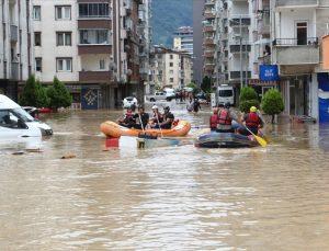 Arhavi'de 450 kişi tahliye edildi
