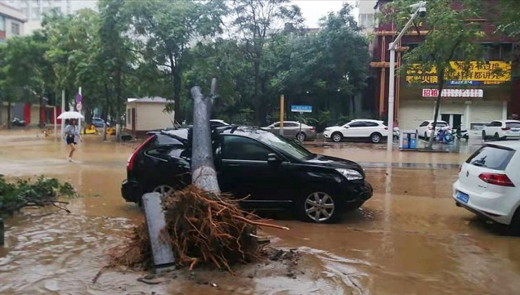 Çin'in Hınan eyaletinde şiddetli yağış uyarısı