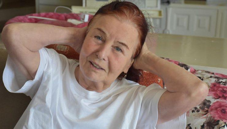 Fatma Girik, Bodrum'da hastaneye kaldırıldı