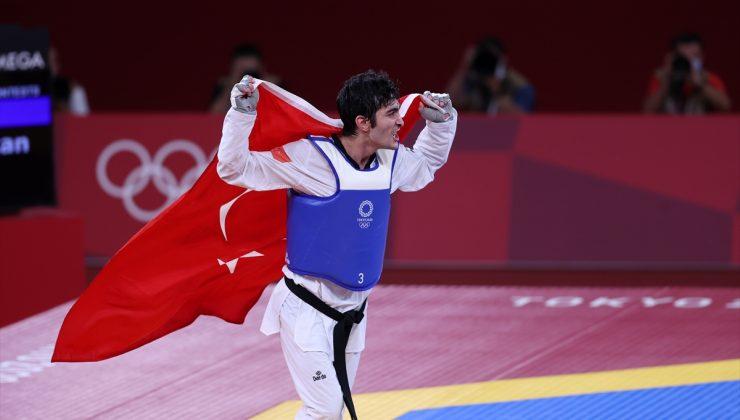 2020 Tokyo Olimpiyat Oyunları'nda ilk madalya Hakan Reçber'den